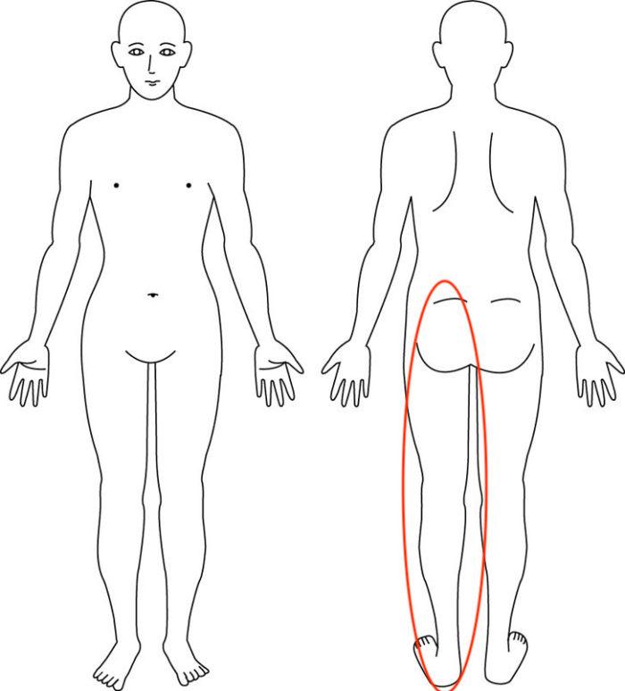 【症例】左腰から足先までのしびれ、痛み、冷感が緩和